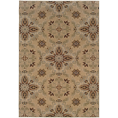 StyleHaven Transitional Floral Polypropylene 4'X 5'9