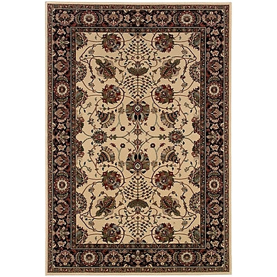 StyleHaven Traditional Floral Polypropylene 7'10