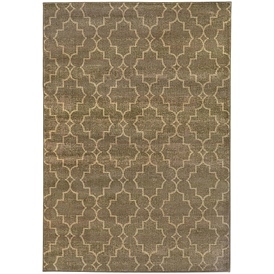StyleHaven Transitional Geometric Lattice Nylon/Polypropylene 3'10