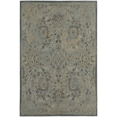 StyleHaven Transitional Distressed Traditional Polypropylene 3'10