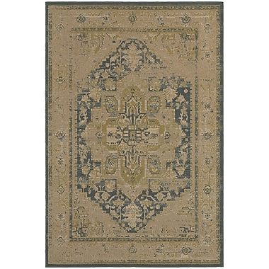StyleHaven Traditional Antiqued Traditional Polypropylene 7'10