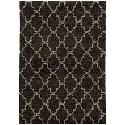 StyleHaven Shag Geometric Polypropylene 5'3