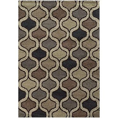StyleHaven Shag Geometric Polypropylene 6'7