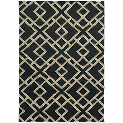 StyleHaven Transitional Geometric Polypropylene 5'3