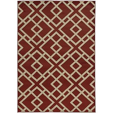 StyleHaven Transitional Geometric Polypropylene 7'10