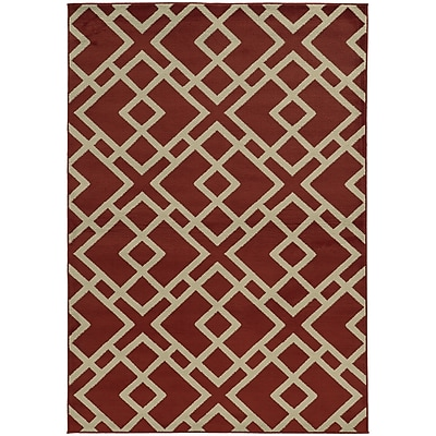StyleHaven Transitional Geometric Polypropylene 7'10