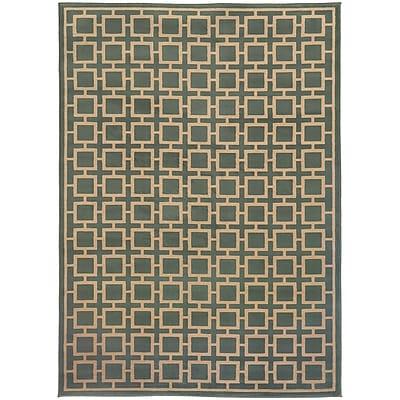 StyleHaven Transitional Geometric Polypropylene 5'3