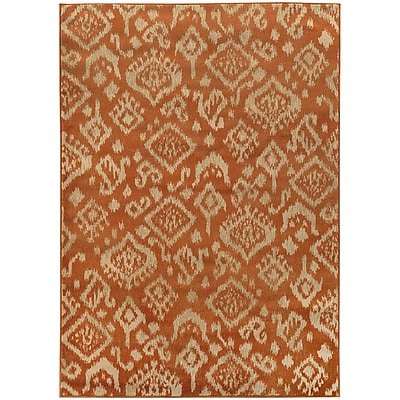 StyleHaven Transitional Tribal Ikat Polypropylene 6'7