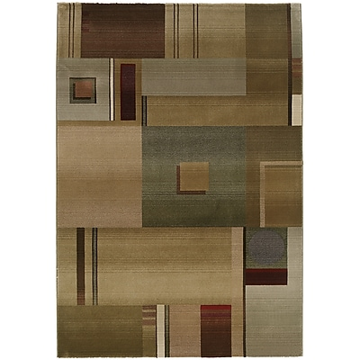 StyleHaven Contemporary Geometric Polypropylene 7'10