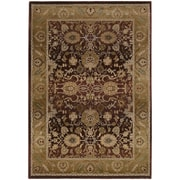 """StyleHaven Traditional Polypropylene 7'10"""" X 11' Purple/Gold Area Rug (WGNR1732M8X11L)"""