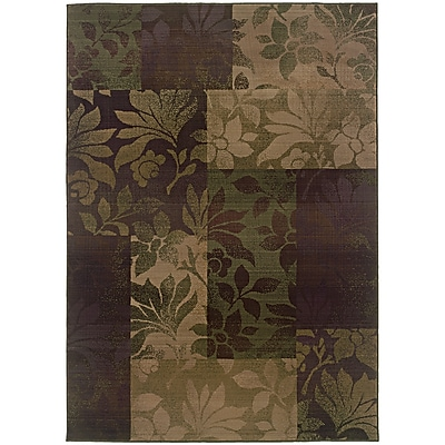 StyleHaven Botantical Blocks Polypropylene 7'10