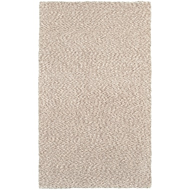 StyleHaven Shag Heathered Polyester 5' X 7' Tan Area Rug (WHEV734015X8L)