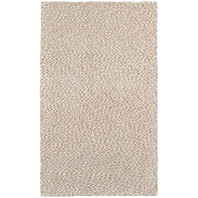 StyleHaven Shag Heathered Polyester 8' X 11' Tan Area Rug (WHEV734018X11L)