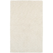 StyleHaven Shag Heathered Polyester 8' X 11' Ivory Area Rug (WHEV734028X11L)