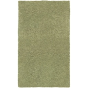 StyleHaven Shag Heathered Polyester 8' X 11' Green Area Rug (WHEV734038X11L)