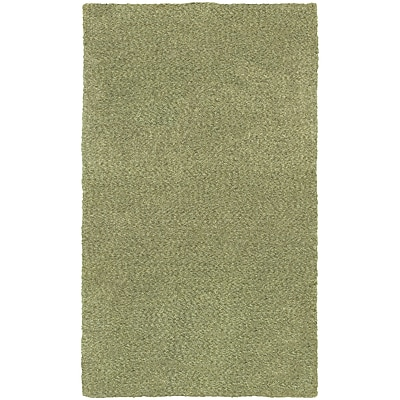StyleHaven Shag Heathered Polyester 5' X 7' Green Area Rug (WHEV734035X8L)