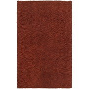 StyleHaven Shag Heathered Polyester 5' X 7' Red Area Rug (WHEV734065X8L)