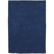 StyleHaven Shag Heathered Polyester 8' X 11' Blue Area Rug (WHEV734088X11L)