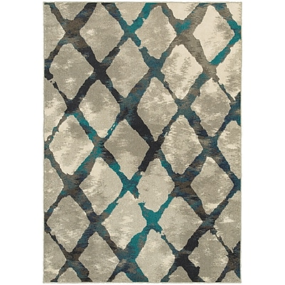 StyleHaven Contemporary Lattice Polypropylene 7'10