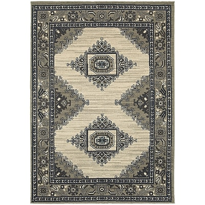 StyleHaven Traditional Medallion Polypropylene 7'10