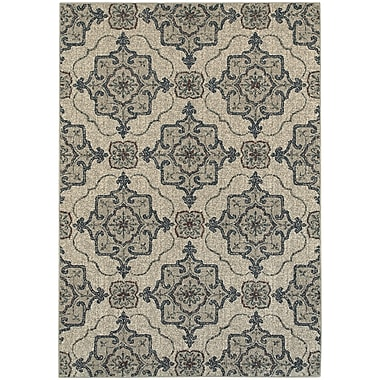 StyleHaven Transitional Medallion Polypropylene 5'3