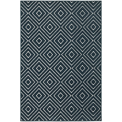 StyleHaven Transitional Diamond Polypropylene 6'7
