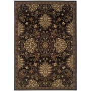 """StyleHaven Transitional Traditional Polypropylene 5'3"""" X 7'6"""" Brown/Beige Area Rug (WHUD042G15X8L)"""