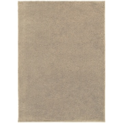 "StyleHaven Contemporary Solid Shag Polypropylene 5'3"" X 7'3"" Beige Area Rug (WIMS337005X8L)"