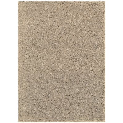 StyleHaven Contemporary Solid Shag Polypropylene 5'3