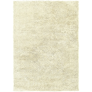 StyleHaven Contemporary Solid Shag Polypropylene 7'10