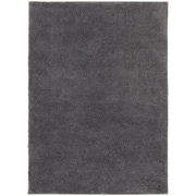 "StyleHaven Contemporary Solid Shag Polypropylene 5'3"" X 7'3"" Grey Area Rug (WIMS830005X8L)"