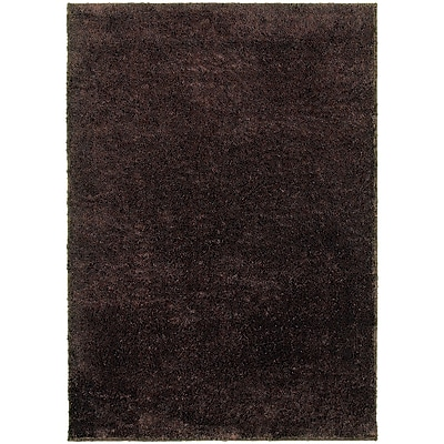 StyleHaven Contemporary Solid Shag Polypropylene 6'7