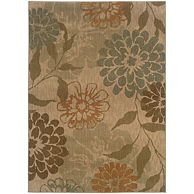 StyleHaven Transitional Floral Nylon 5'3