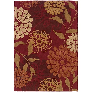 StyleHaven Transitional Floral Nylon 6'7