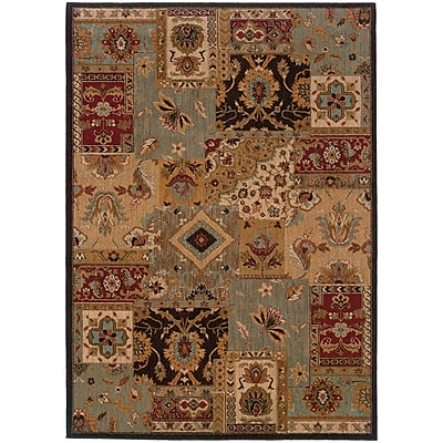 StyleHaven Transitional Traditional Patchwork Nylon 5'3