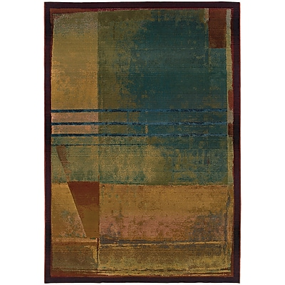 StyleHaven Contemporary Abstract Polypropylene 5'3