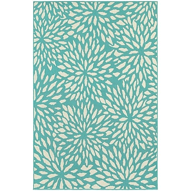 StyleHaven Outdoor Floral Polypropylene 7'10