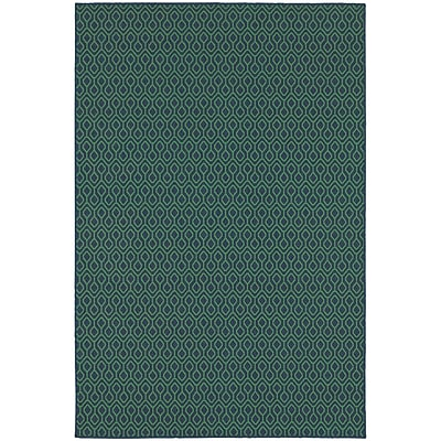 StyleHaven Outdoor Geometric Polypropylene 5'3