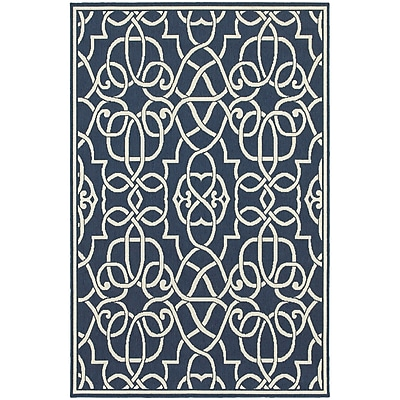 StyleHaven Outdoor Geometric Polypropylene 6'7