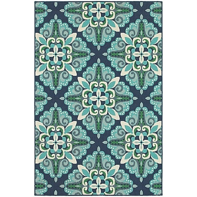 StyleHaven Outdoor Medallion Polypropylene 7'10