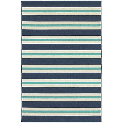 StyleHaven Outdoor Stripe Polypropylene 6'7