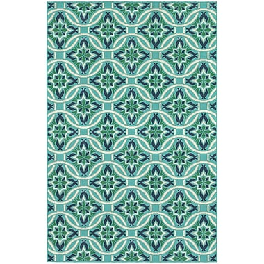StyleHaven Outdoor Floral Polypropylene 5'3