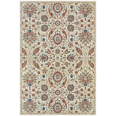 StyleHaven Traditional Botanical Polypropylene 7'10