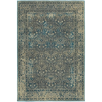 StyleHaven Traditional Distressed Traditional Polypropylene 7'10