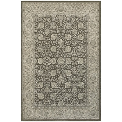 StyleHaven Traditional Border Floral Polypropylene 5'3