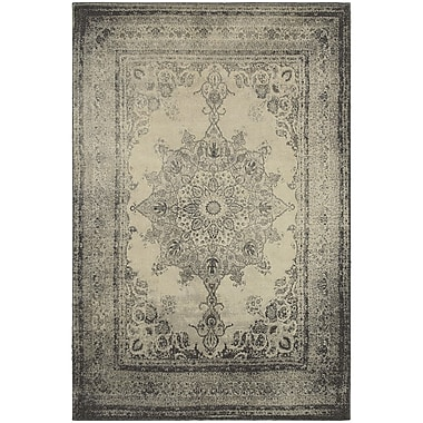 StyleHaven Traditional Distressed Traditional Polypropylene 3'10