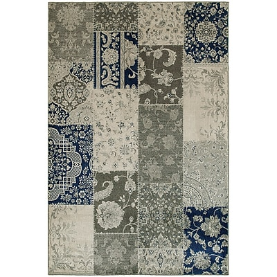 StyleHaven Casual Patchwork Persian Polypropylene 6'7