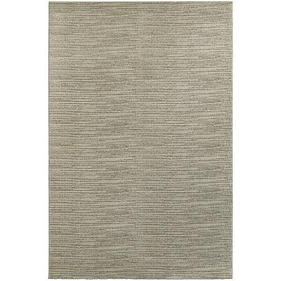 StyleHaven Transitional Distressed Stripe Polypropylene 3'10