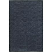 "StyleHaven Distressed Stripe Polypropylene 7'10""X10'10"" Navy/Grey Area Rug (WRIC526B38X11L)"