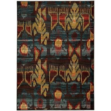 StyleHaven Transitional Tribal Nylon/Polypropylene 7'10